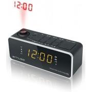 Radio cu ceas Muse M-188 P (Negru)