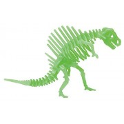 Glow in the Dark Dinosaur Toy Figurine & Puzzle