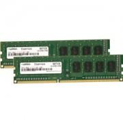 Memorie Mushkin Essentials 4GB (2x2GB) DDR3, 1600MHz, PC3-12800, CL11, Dual Channel Kit, 997029