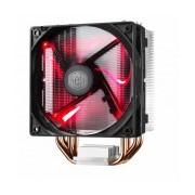 Disipador CPU Cooler Master Hyper 212 LED, 120mm, 600-1600RPM, Negro/Rojo