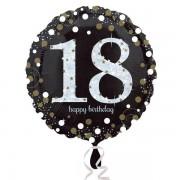 Balon folie Happy Birthday 18