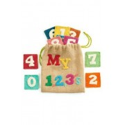 Arcadia Home My 123's Children's Numbers Game, Multicolored