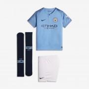 Tenue de football 2018/19 Manchester City FC Stadium Home pour Jeune enfant - Bleu