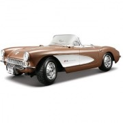 Maisto 1:18 Scale 1957 Chevy Corvette Diecast Vehicle (Colors May Vary)