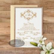 Invitatie nunta Eleganta simpla