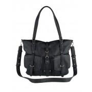 Tamaris Handtasche mit praktischer Fächereinteilung, blau