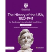 Cambridge International AS Level History The History of the USA 18201941 Coursbook par Browning & PeteMcConnell & TonyWalshAtkins & Patrick