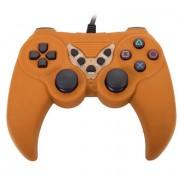 Gamepad Dual vibration color naranja para juegos 656545N