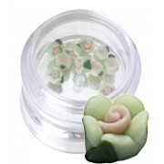 Flori vernil din material ceramic pentru NailArt – 5 mm -09