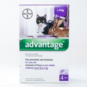 Advantage (Purple) for Large Cats over 8.8lbs (4kg)