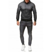 OneRedox Jogging Suit Sport Set Tracksuit Pants & Hoodie Sweater Anthracite 1130C 52005-3