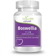 Natures Velvet Lifecare Boswellia Serrata Pure Extract 500 mg 60 Veggie Capsules