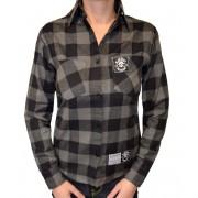 košile dámská BLACK HEART - DUKE - BLACK - 014-0005-BLK