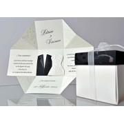 Invitatie nunta tip cutiuta cod 34951