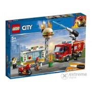 LEGO City - Stingerea incendiului de la Burger Bar (60214)