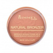Rimmel London Natural Bronzer SPF15 бронзант 14 гр за жени 025 Sun Glow