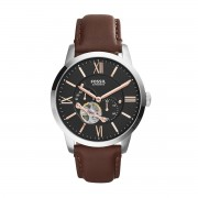 Часовник FOSSIL - Townsman ME3061 Dark Brown/Silver/Steel