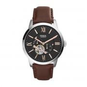 Часовник FOSSIL - Townsman ME3061 Dark Brown/Silver/Steel