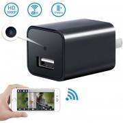 Cargador USB Camara Espia FULLHD Con WIFI P2P Video Tiempo Real M10
