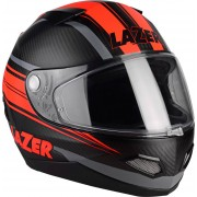 Lazer Kite Pure Carbon Arrow Lumino Casco Negro/Rojo L (59/60)
