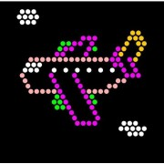 Lite Brite Refill: Things That Go (SQUARE) - NOT for New Magic Screen