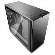 CASE, Fractal Design Define R6 USB-C Gunmetal TG, Window, Black /no PSU/ (FD-CA-DEF-R6C-GY-TGL)