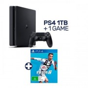 SONY PlayStation 4 Slim 1 TB, negru + FIFA 19
