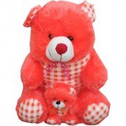 Soft toy Fir mother and son teddy 35 cm for kids SE-St-66