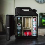 MikaMax Jerrycan Bar - Sterke Drank - Zwart