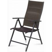 Fémvázas kerti szék 5 pozícióban állítható FDZN 5015