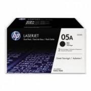 HP CE505D/CE505AD № 05D картридж лазерный оригинальный черный
