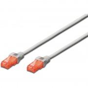 Cablu de retea Digitus Premium Patchcord Cat 6 SSTP 5m Gri