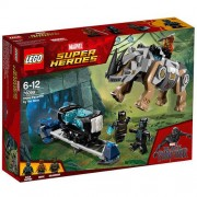 Set de constructie LEGO Marvel Super Heroes Rhino Face-Off