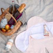 RED CASTLE Wrap Blanket Babynomade Pink