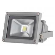 LED-Strahler für den Außenbereich - 10 W Epistar Chip - 6500 K, grau