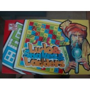 United Toys Ludo and Snakes and Ladders Deluxe, Multi Color