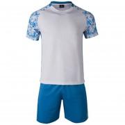 Conjunto De Fútbol Jersey Para Unisexo Permeabilidad De Color Solido - Blanco