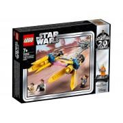 Lego Конструктор Lego Star Wars Гоночный под Энакина: выпуск к 20-летнему юбилею 75258