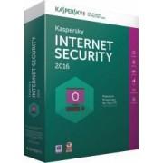Kaspersky Internet Security 2016 1 PC +1 Gratis 1 An Licenta Reinnoire Box
