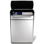 CW2018 recycler Rozsdamentes szemetes, 48 literes, érintésre nyitás