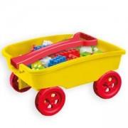 Детски конструктор в количка 11042 MOCHTOYS, налични 2 цвята, 5907442110425