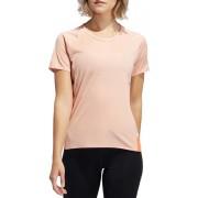 adidas 25/7 Rise Up N Run Parley Tee EI6305, Vrouwen, Roze, T-shirt maat: M