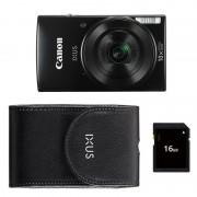 Canon Ixus 190 Essentials Kit compact camera Zwart open-box