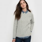 LEVI'S Pullover, Zopfmuster, runder Ausschnitt