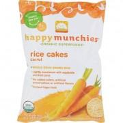 Happy Baby Happy Munchies Rice Cakes Carrot - 1.41 oz - Case of 10
