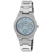 Timex E-Class Analog Blue Dial Womens Watch - J102