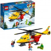 Lego city great vehicles eli-ambulanza 60179