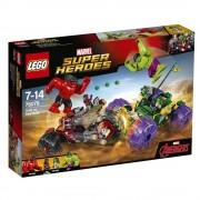 LEGO Super Heroes, Hulk contra Hulk cel Rosu 76078
