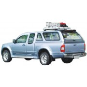 HARD TOP CARRYBOY MAZDA BT50 SIMPLE CAB 2007 SS VITRES LATERALES - accesso...