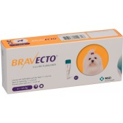 BRAVECTO Spot on Dog 112.5mg 2-4.5kg x 1 pipeta MSD
